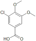 3-Chloro-4,5-dimethoxy-benzoic acid
