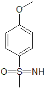 Imino(4-methoxyphenyl)methyl-lambda6-sulfanone